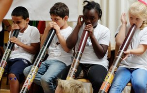 didgeridoo workshop kinderen